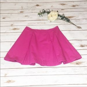 Kate Spade SATURDAY Fushia pleated skirt - Size 2